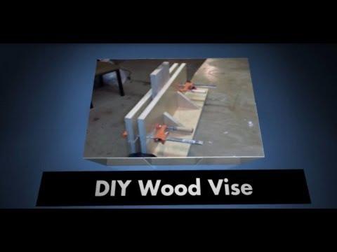 DIY wood vise