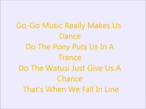 Glee - We Got the Beat - Lyrics