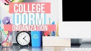 Back to School: College Dorm Room Organization Ideas + Essentials!