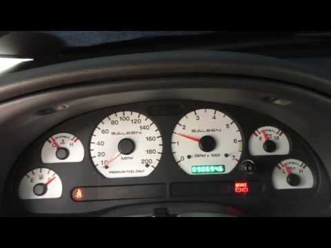 2000 Mustang GT Saleen with a bad IAC (Idle Air Control)