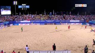 Russia vs Brazil - 2012 Beach Soccer Intercontinental Cup Final