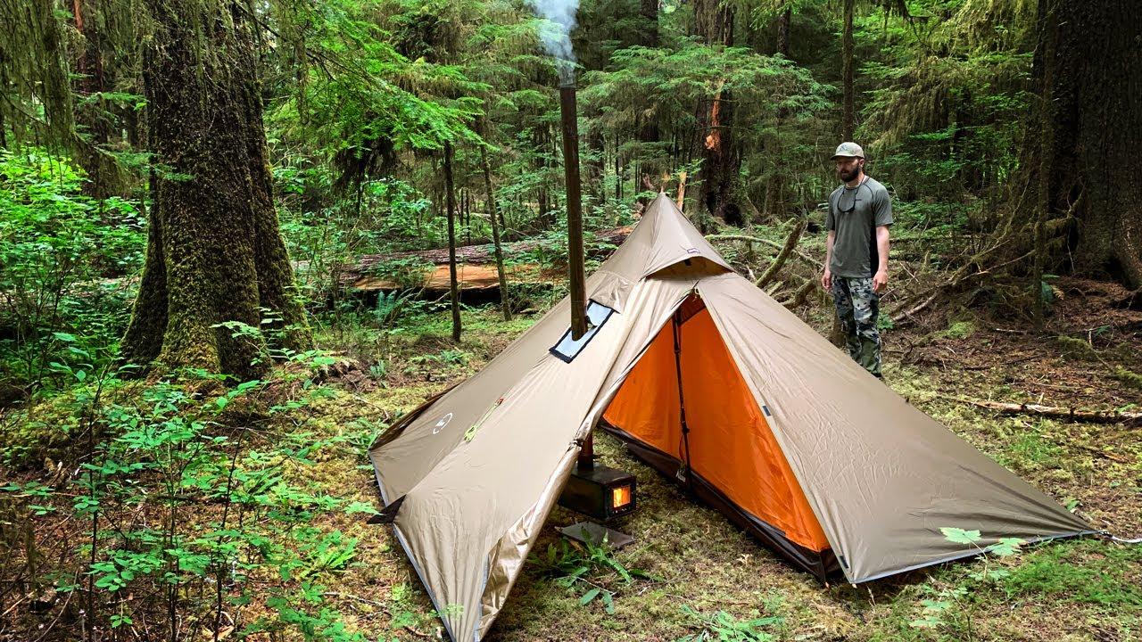 Minipeak XL Hot Tent Shelter 3-person   2019 Hunting Tent Promo