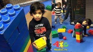 KID is a Lego Bricks Builder | Indoor Playground fun for kids