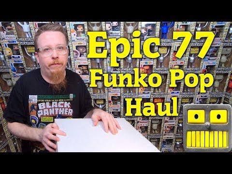 Funko Pops Mega Epic 77 Figure Haul