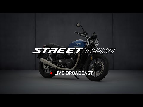 New Street Twin and Gold Line Edition -  Reveal