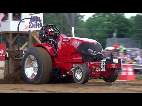 Tractor Pulling 2021: Lucas Oil PPL Hot Farm Tractors Pulling In  Tampico, IN - Friday And Saturday