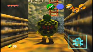 The Legend Of Zelda - OoT - Parte 3 - Caverna Dondongo, Bombas e Rubi Goron
