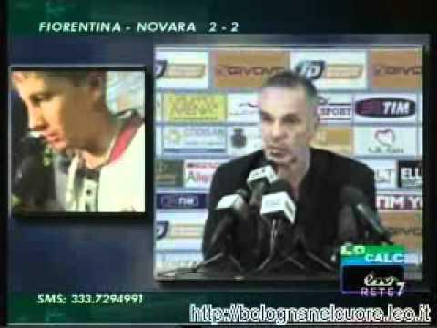 Bologna FC 1909 02/05/2012 Catania – Bologna 0-1 Pioli in sala stampa e Ramirez