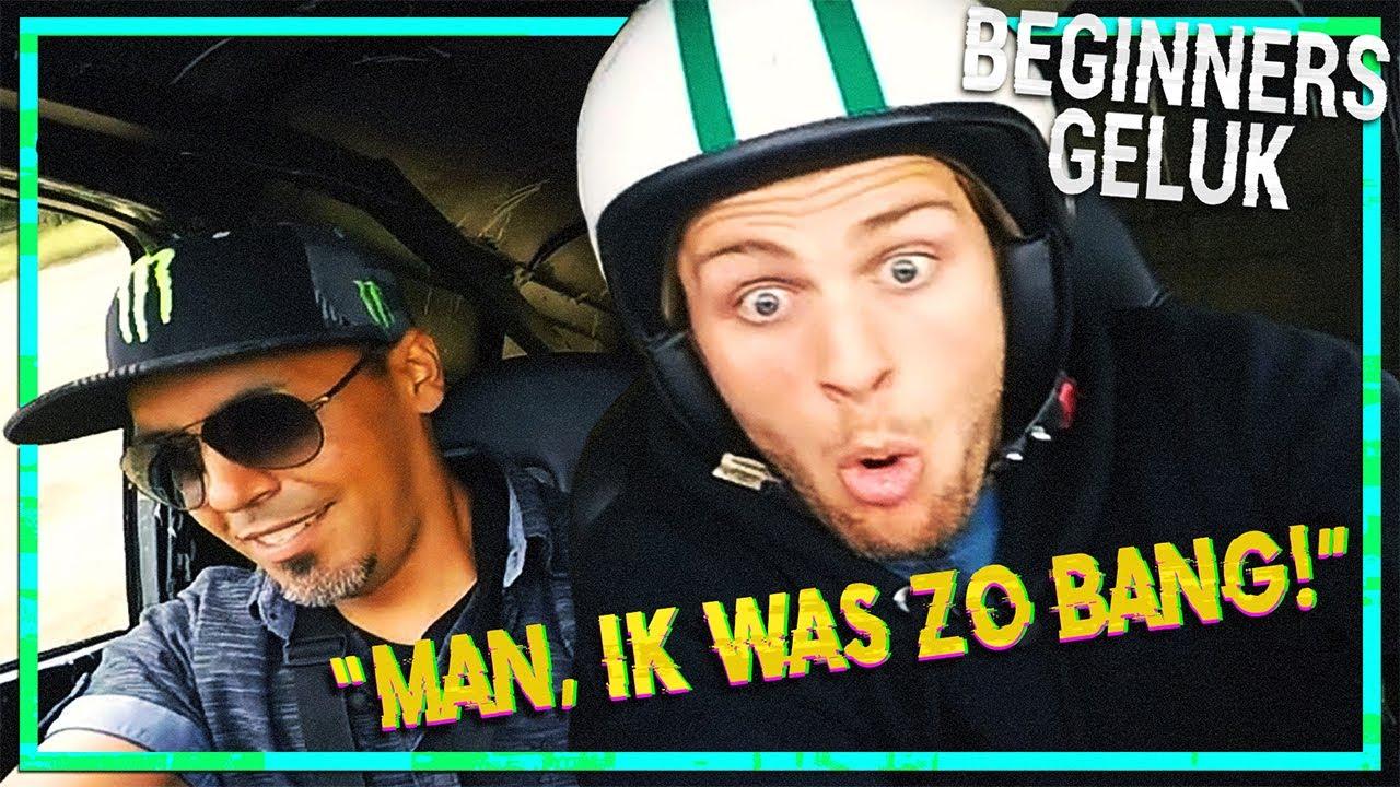 KNEITER HARD GAAN IN EEN MONSTER TRUCK | BEGINNERSGELUK - MTV FIRST