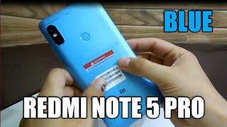 Redmi Note 5 Pro Blue | Unboxing | My New Phone | Suraj Sharma