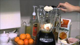 How To Make An Orange Dreamsicle Smoothie