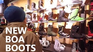 New Boa Snowboard Boots & Injury Recovery - Vlog