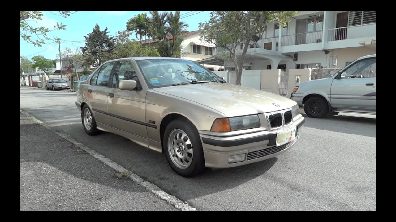 1995 bmw 325i e36 start up full vehicle tour and quick drive youtube