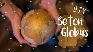 DIY Beton Globus - Weihnachtsgeschenk | kreativgefühl