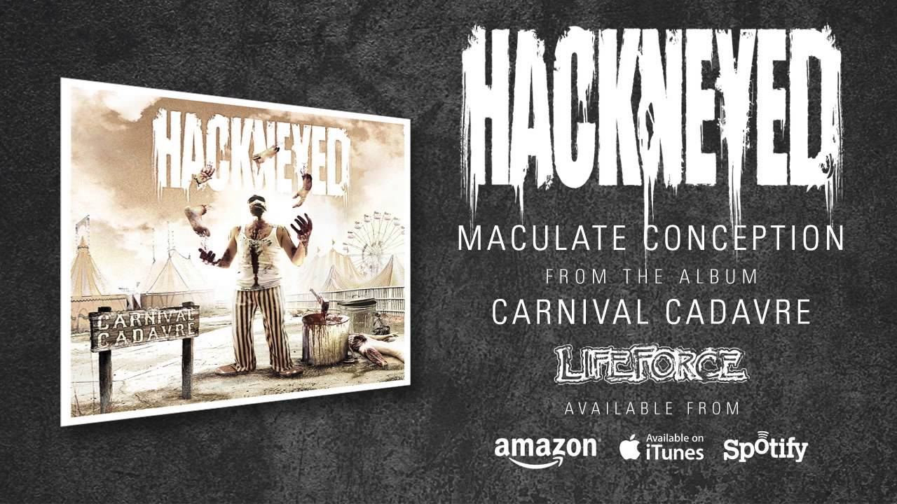 hackneyed maculate conception album track