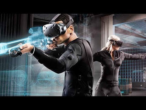 This VR Suit Lets You Feel The Game You're Playing