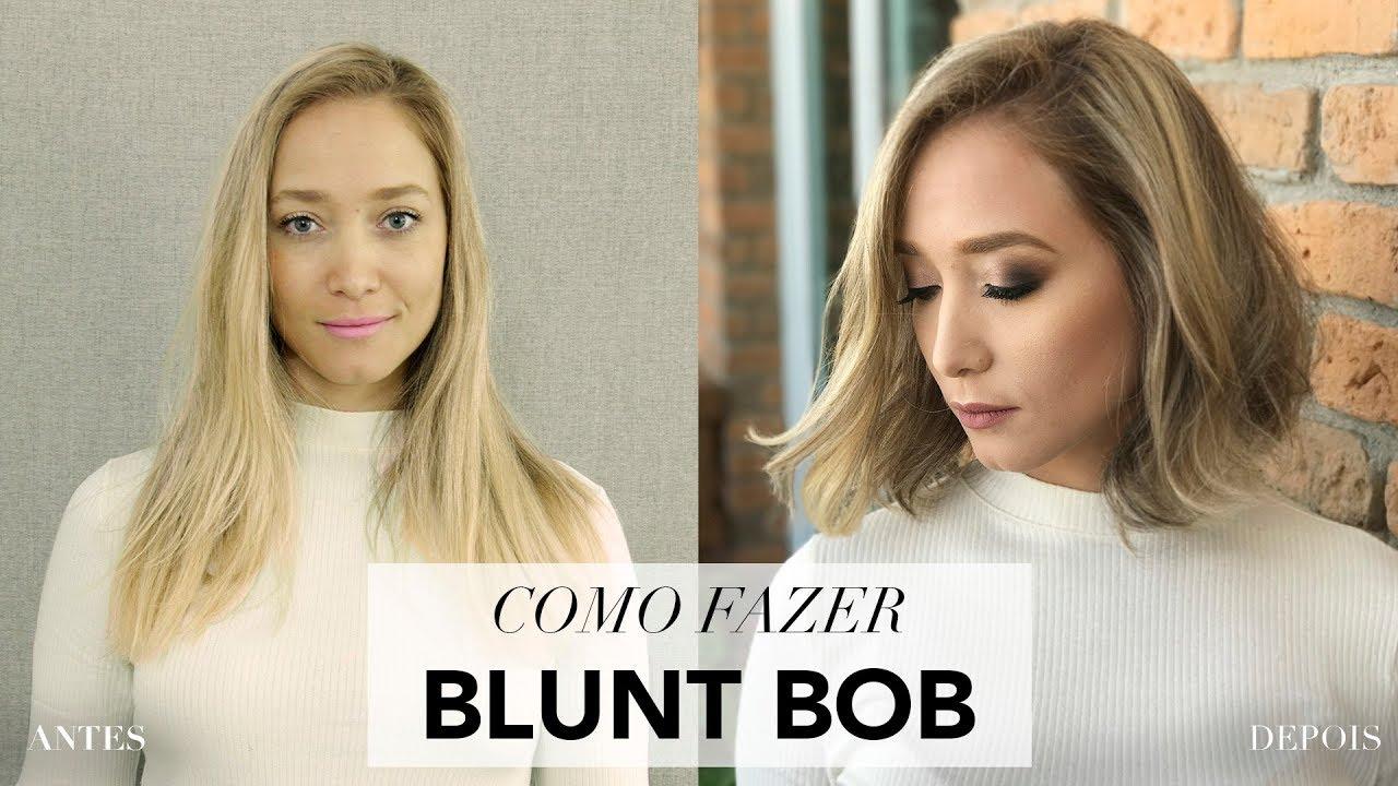 Como Fazer Corte Blunt Bob #1
