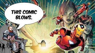 Invincible Iron Man 600 was TRASH.