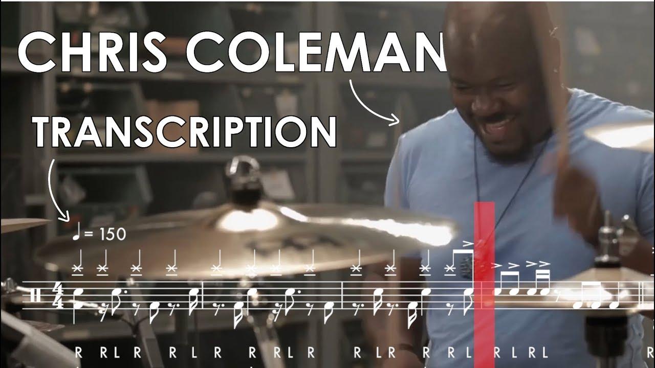 Download Chris Coleman Drum Transcription: Birch Infinite Performance Video Series