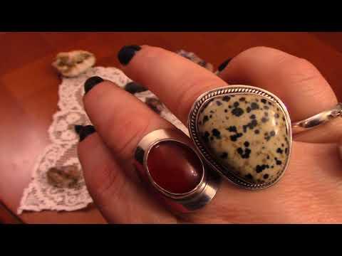 Старинные и винтажные кольца . Покупки с блошиного рынка.