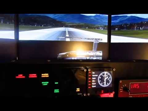 How to set up FSX Home Cockpit using multiple monitors