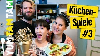 Lustige Küchenspiele #03 // Vegetarische Tacos // #yumtamtam