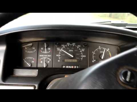 1994 Ford f-250 7.3 Diesel review and test drive