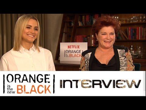 Orange is the New Black: Interview mit Taylor Schilling und Kate Mulgrew | Netflix