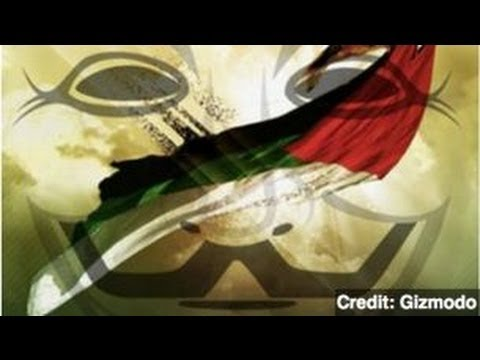 Anonymous Targets Israeli Government Websites