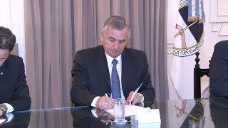 Video: Gerardo Morales. Firma de convenio fortalecerá atención sanitaria en Humahuaca