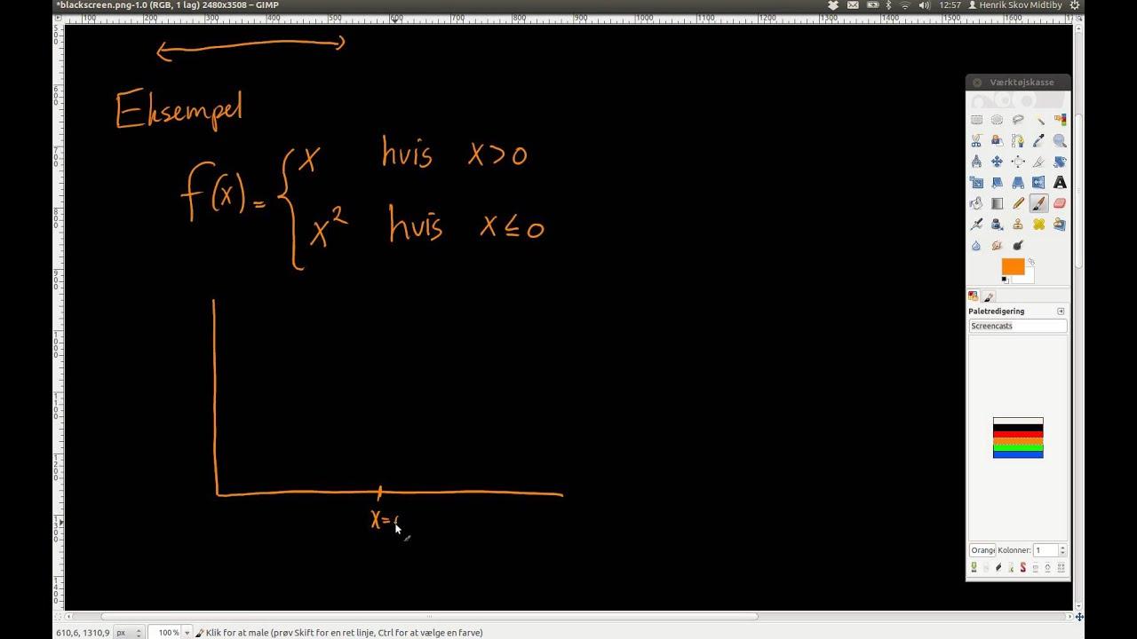 Opdeling af integraler