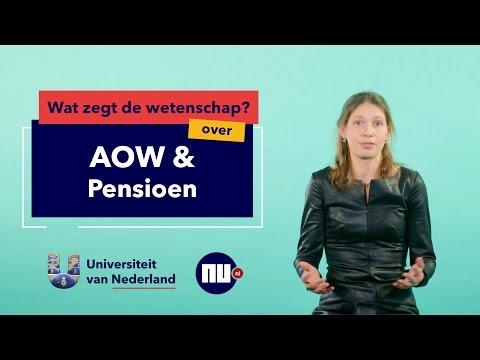 verkiezingen 2017 aow en pensioen econometrist marike knoef