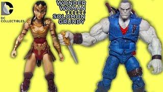 Oyuncak Figürü | DC Collectibles - Wonder Woman vs Solomon Grundy | Süper Oyuncaklar