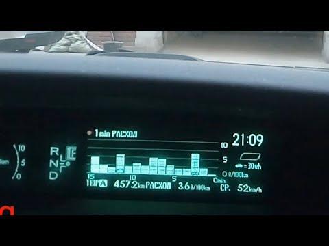 #15 Toyota Prius 30 и расход 3.6 . Приступ жадности.