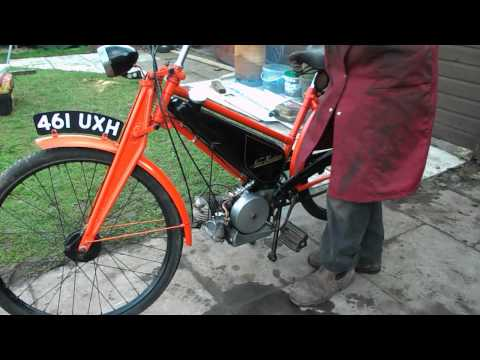 New Hudson autocycle bike.