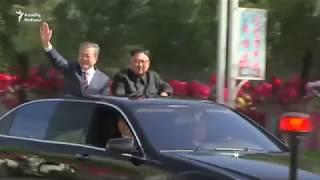 Koreyada inqilabi səfər - Cənubun prezidenti Şimala getdi