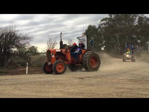 The Central West Charity Tractor Trek 2017