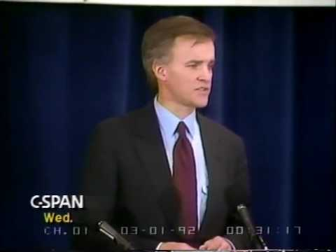Bob Kerrey Campaign Speech 1992 - YouTube