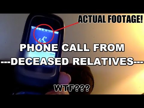 PHONE CALL FROM THE DEAD?!? WTF!!! alien/spirit/demon? (((EPIC))) Paranormal VLOG