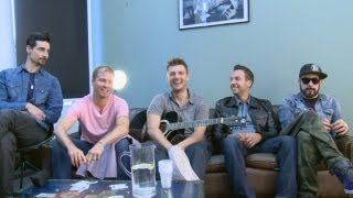 Backstreet Boys interview: They chat new music, movie, fans, babies, One Direction and even sing!