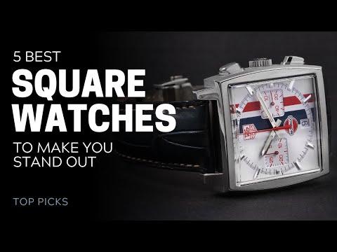 5 Best Square Watches | SwissWatchExpo