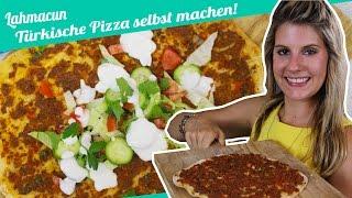 Lahmacun   Türkische Pizza selbst machen    Felicitas Then   Pimp Your Food
