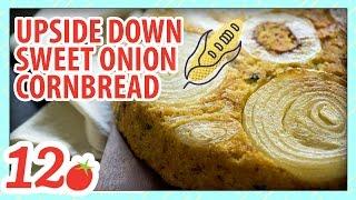 Sweet Onion Upside Down Cornbread Recipe