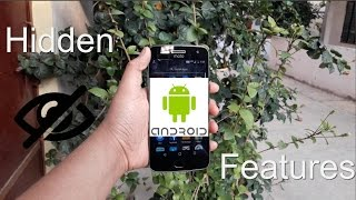 Hidden Android (Lollipop/Marshmallow/Nougat) Features and Tricks (demonstrated on Moto G4 Plus)