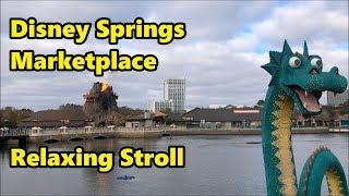 Disney Springs Marketplace | Relaxing Stroll | Walt Disney World thumbnail