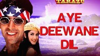 Ae Deewane Dil - Tarazu | Akshay Kumar & Sonali Bendre | Alka Yagnik & Kumar Sanu
