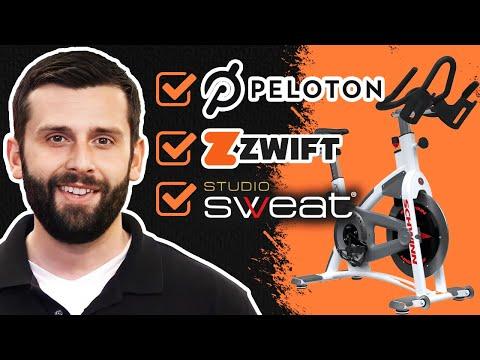 Best Indoor Bike for Home Peloton, Zwift, StudioSweat Compatible.
