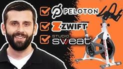 Best Indoor Bike for Home - Peloton, Zwift, StudioSweat Compatible.