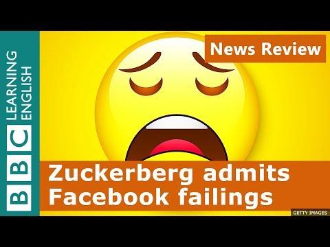 Zuckerberg admits Facebook failings: BBC News Review