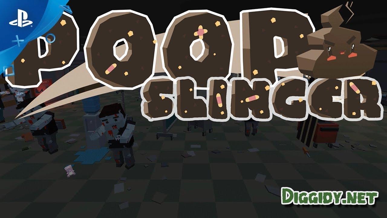 Poop Slinger - Zombies DLC Announcement Trailer | PS4